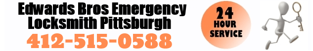 Edwards Bros Emergency Locksmith Pittsburgh 412-515-0588 24 hour service